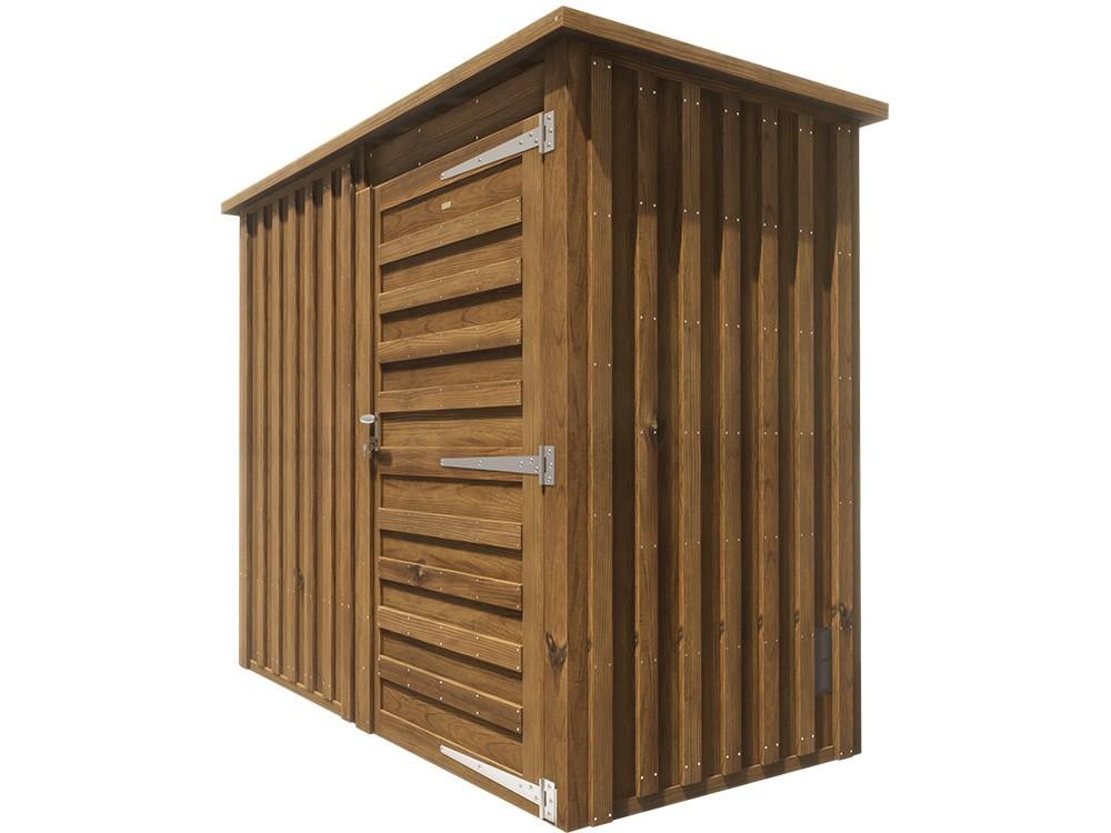 Abri de jardin en bois Bergonce 2,3 m² technologie DURAPIN marque PIVETEAUBOIS Vivre en Bois