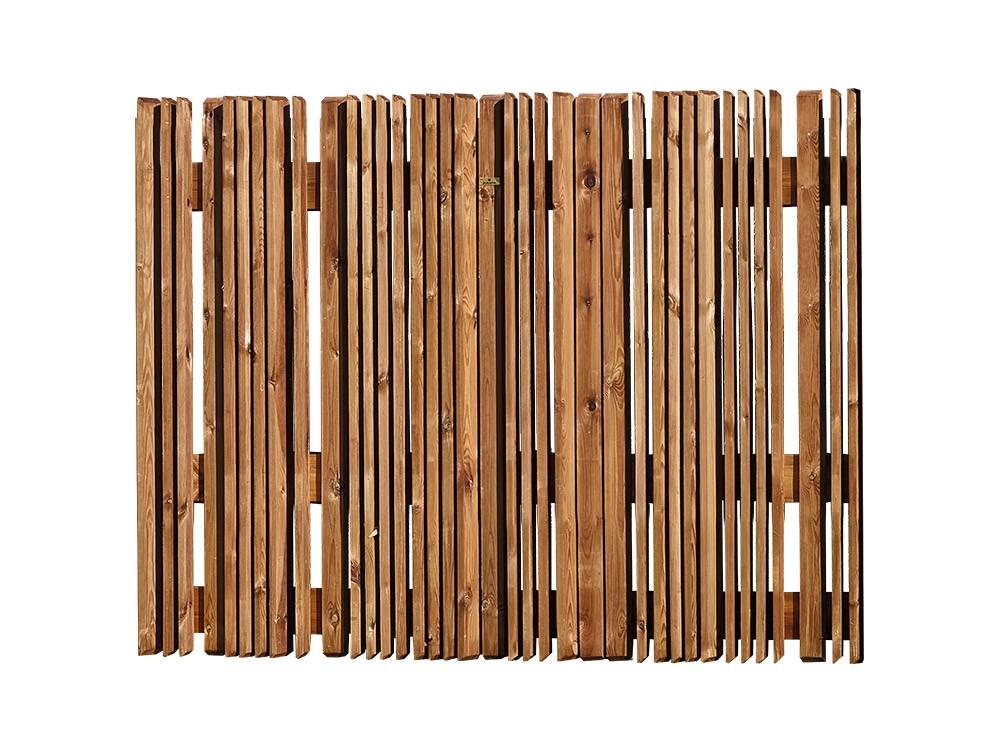 Petite clôture bois Montélie en Pin classe d'emploi 4 marque PIVETEAUBOIS