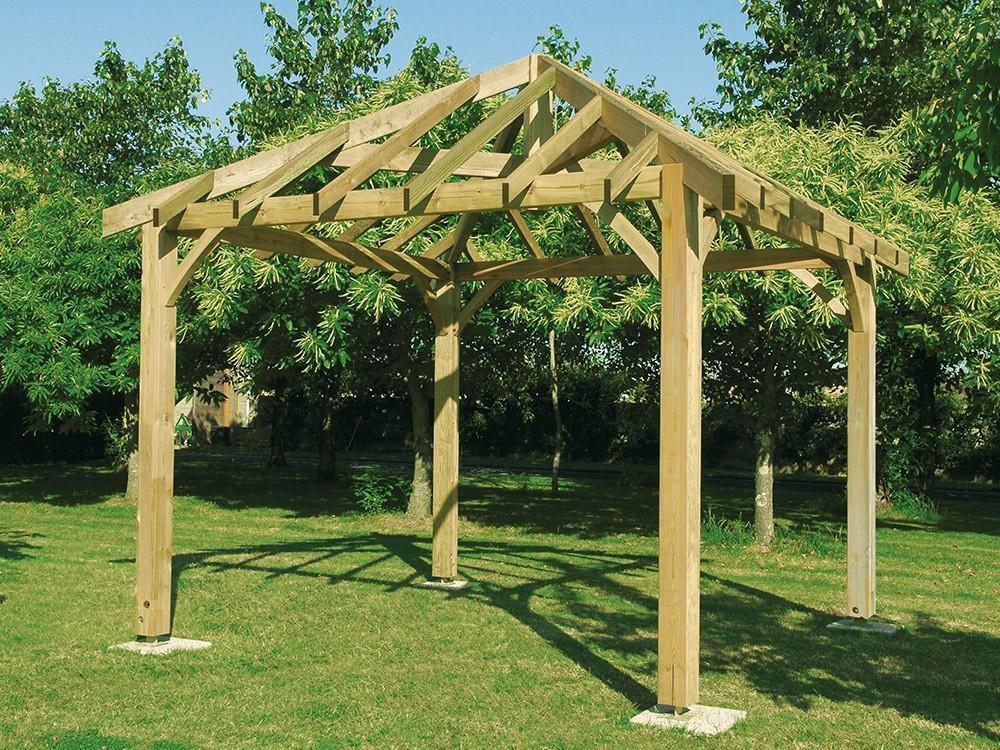 Kiosque jardin Vivre En Bois
