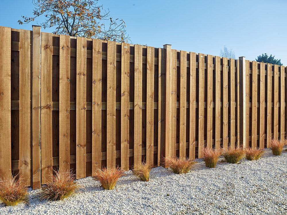 Clôture panneaux bois occultants Simoun Pin technologie DURAPIN marque PIVETEAUBOIS Vivre en Bois