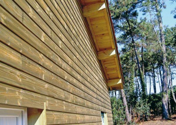 bardage bois Opus vivre en bois