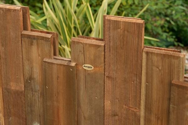 Lames bois de différentes hauteurs Nymphéa Pin classe d'emploi 4 technologie DURAPIN marque PIVETEAUBOIS Vivre en Bois