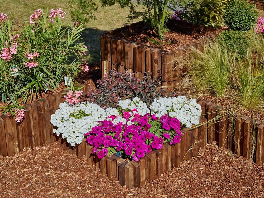 Jardinière carrée bois Métis en Pin classe 4 marque PIVETEAUBOIS