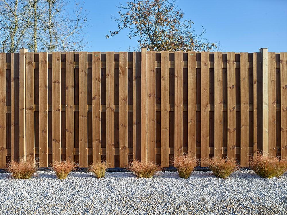 Panneau bois Simoun en Pin classe d'emploi 4 technologie DURAPIN marque PIVETEAUBOIS marron par imprégnation Vivre en Bois
