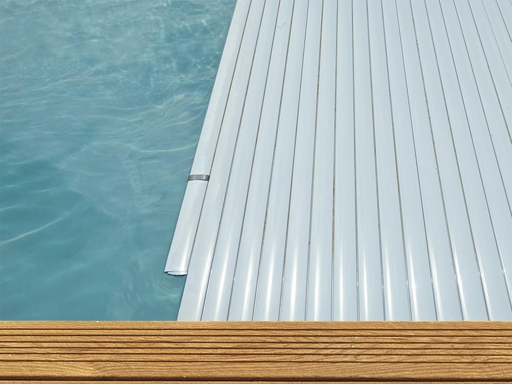 Option volet de sécurité pour piscine Maéva rectangle