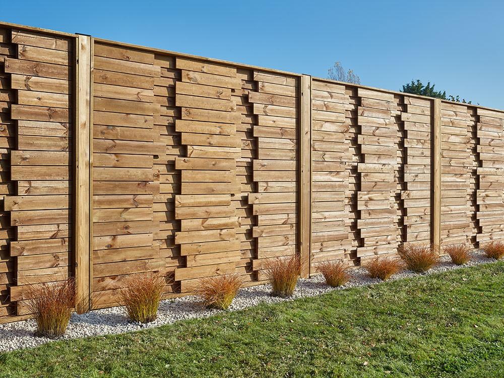 Lames surface persienné panneau en Pin Oasis classe 4 technologie DURAPIN marque PIVETEAUBOIS Vivre en Bois