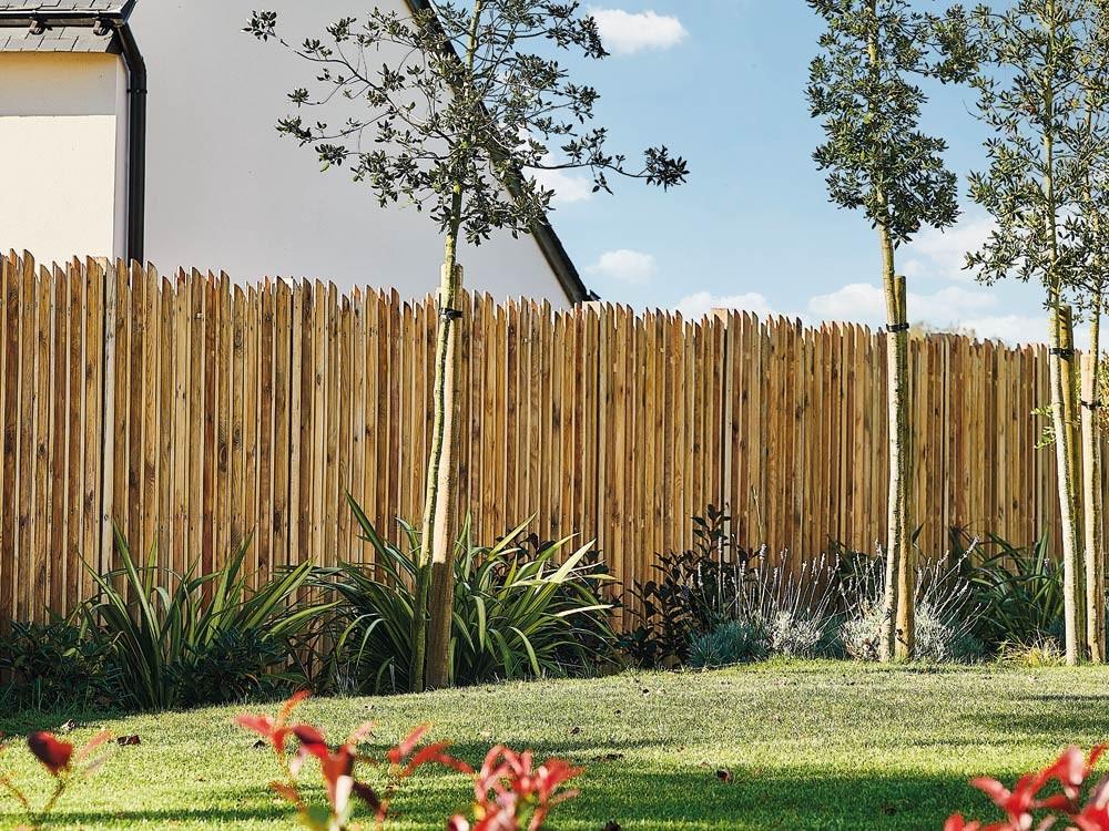 Brise vue bois Samba en Pin classe 4 technologie DURAPIN marque PIVETEAUBOIS