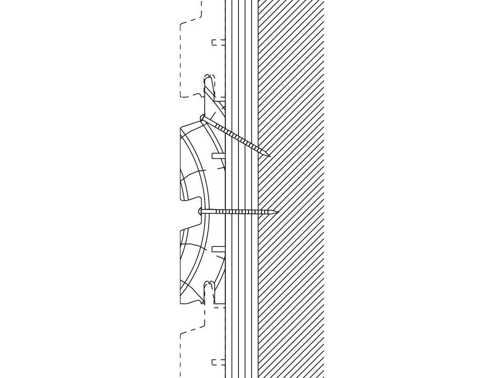 dessin technique bardage bois