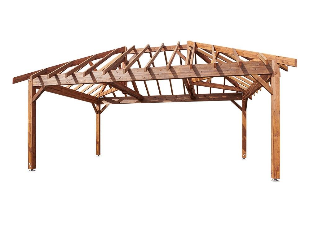 Kiosque bois en Pin classe 4 DURAPIN marque PIVETEAUBOIS Vivre en Bois