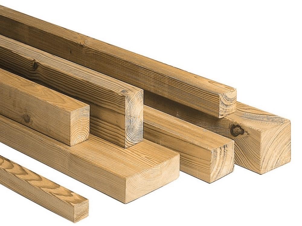 Clôture bois Jersey en Pin