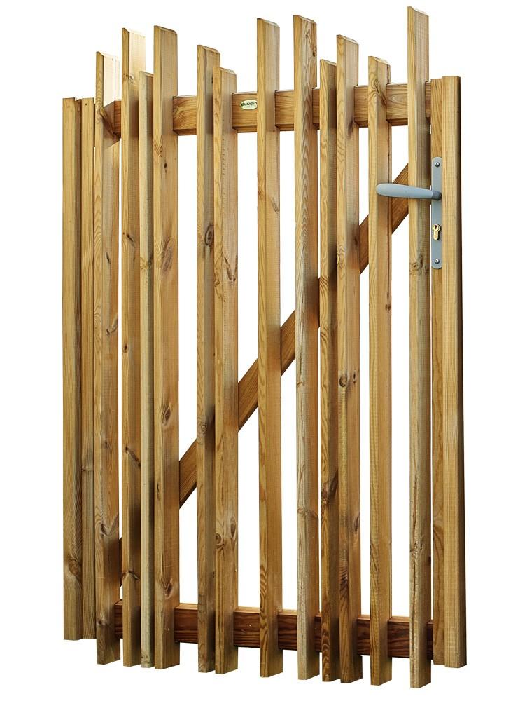 Portillon en bois Tempo