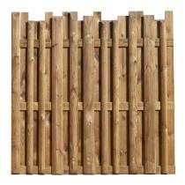 Panneau en bois marron Arizona Pin classe d'emploi 4 technologie DURAPIN marque PIVETEAUBOIS