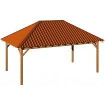 Carbet Bois 4x6m avec toiture