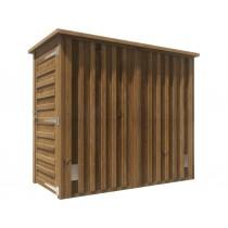 Abri bois mitoyen à partager 2x1,2 m² Ludon classe 4 technologie DURAPIN marque PIVETEAUBOIS Vivre en Bois