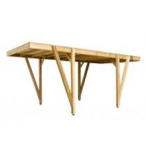 Carport bois Grappa Pin marque Piveteaubois Vivre En Bois