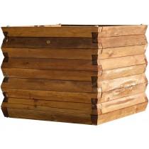 Jardinière bois Bellagio en Pin classe 4 technologie DURAPIN marque PIVETEAUBOIS