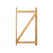 Kit cadre bois et ferrures pour création de portillon