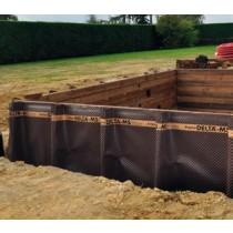 Nappe protection murs enterrés
