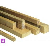 Planche en bois rabotée