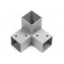 Connecteur d'angle pour poteaux