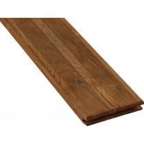 Lame de terrasse bois striée Aruba 22mm