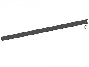 Profil poteau de fin pour clôture Kelona