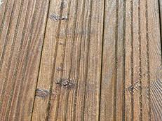Protection des bois neufs