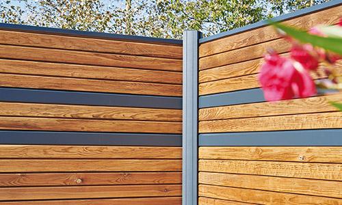 Lames empilables en Aluminium de la clôture Tokyo