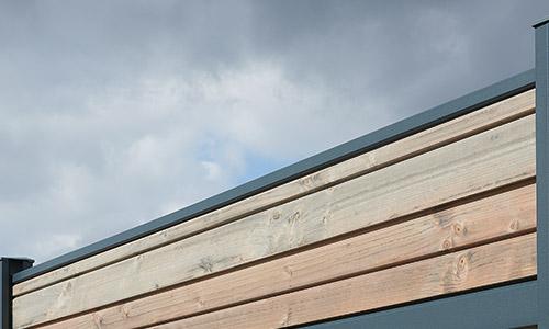 Lame de finition couvertine en aluminium Qualicoat Tokyo