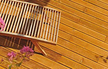 Terrasse bois technologie Durapin