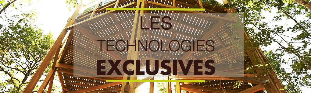 Les technologies exclusives de Vivre en Bois