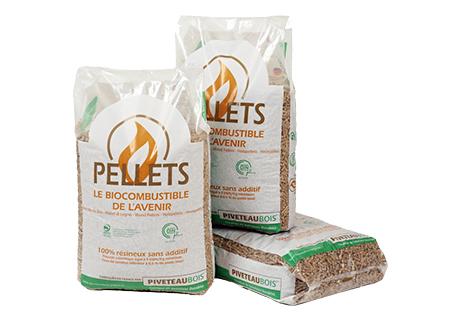 Sacs de 10 ou 15 kg de Pellets