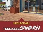 Terrasse Santorin