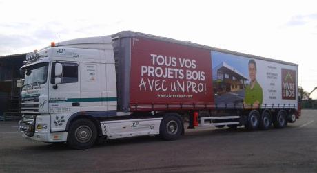 Camion 38 Tonnes Vivre en Bois